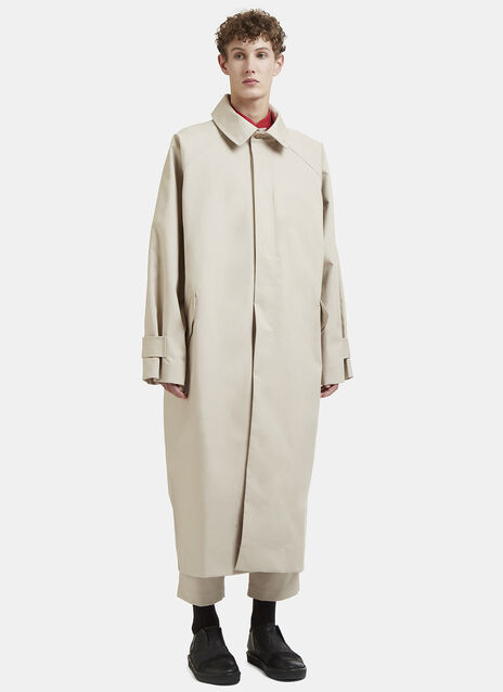 Long Oversized Trench Coat