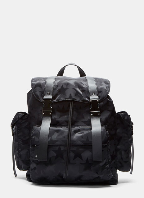 Camouflage Star Print Backpack