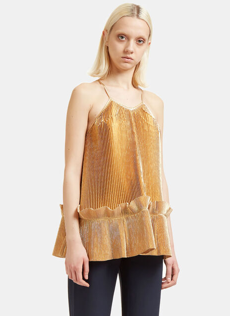 Viviana Pleated Top