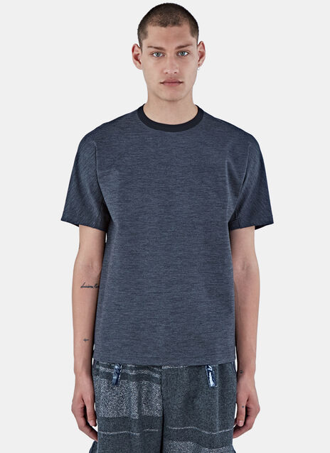 Crew Neck Technical Boxy T-Shirt