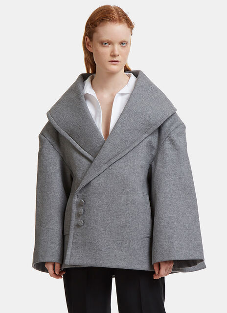 Le Caban Wool Coat