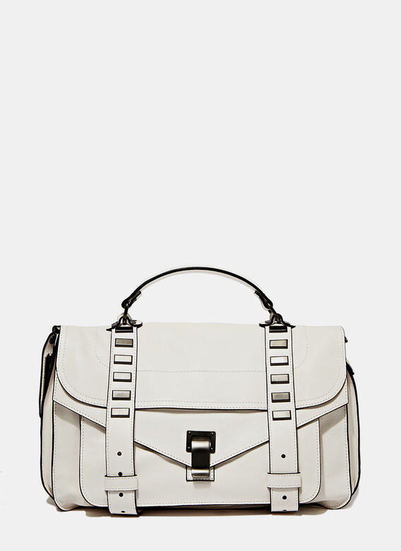 Proenza Schouler Ps1 M Studded Leather Bag