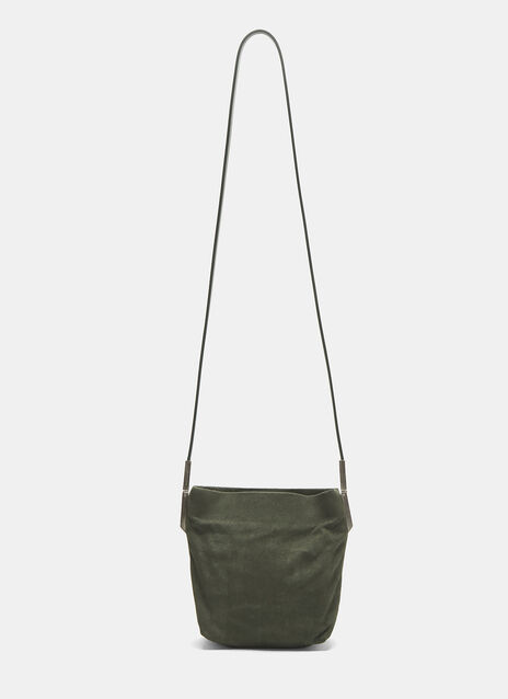 Rick Owens Small Suede Adri Bag