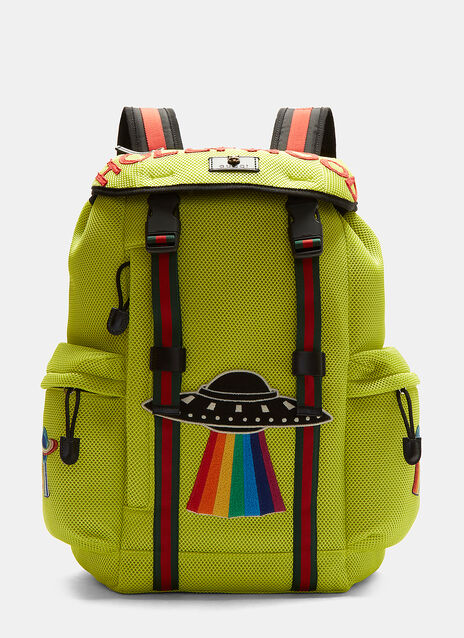 Zaino Hollywood Appliqué Mesh Backpack
