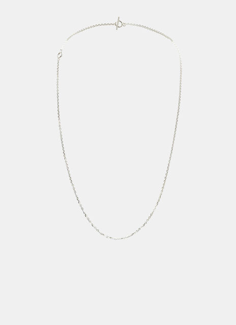 Polished String Chain Necklace