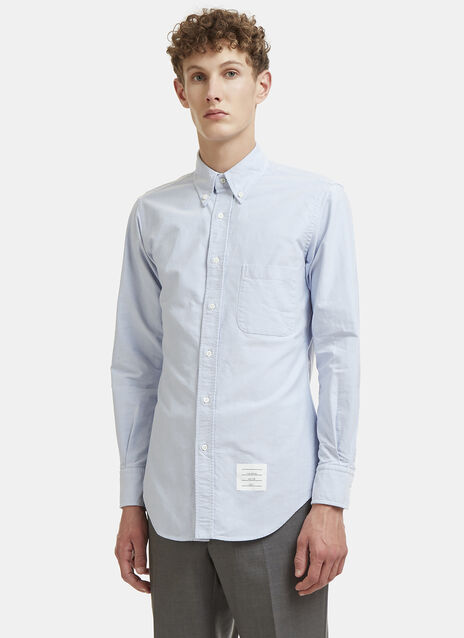 Buttoned Back Oxford Shirt