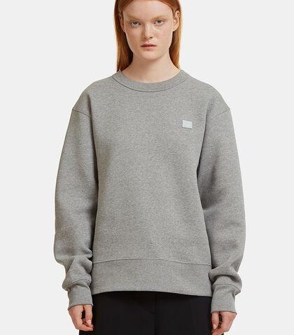 Fairview Oversized Face Embroidered Sweater
