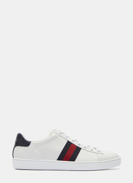 Ace Leather Low-top Leather Sneakers
