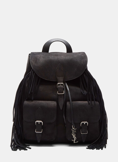 Festival Crusader Fringed Suede Backpack