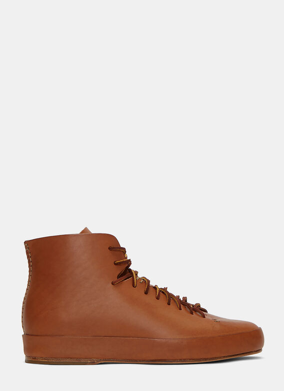 Feit Hand Sewn High-Top Sneakers