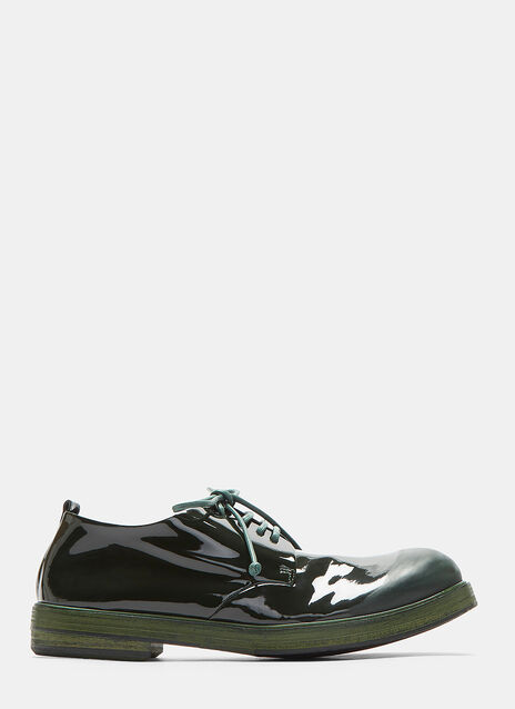 Zucca Zeppe Vernice Lace-Up Shoes
