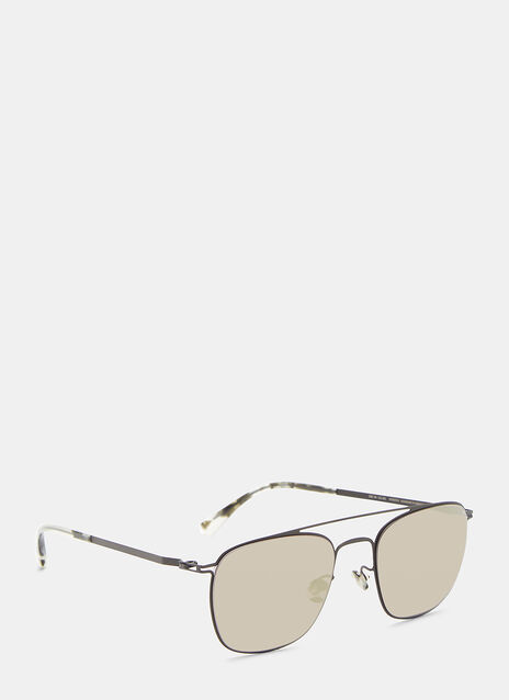 Torge Square Aviator Sunglasses