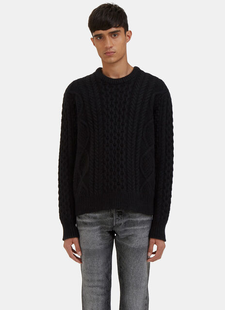Nastro Cable Knit Sweater