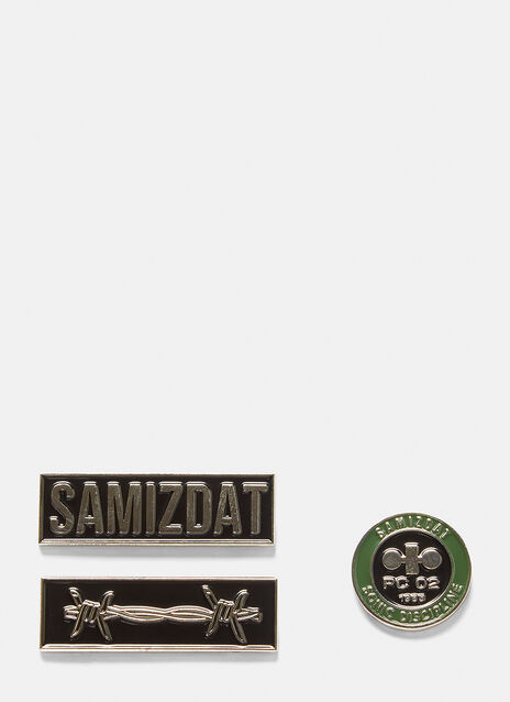 Samizdat Pin Badges
