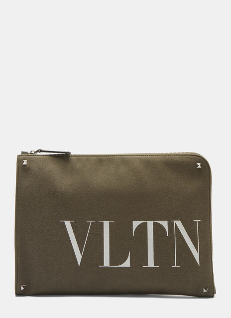 Valentino VLTN Logo Document Case