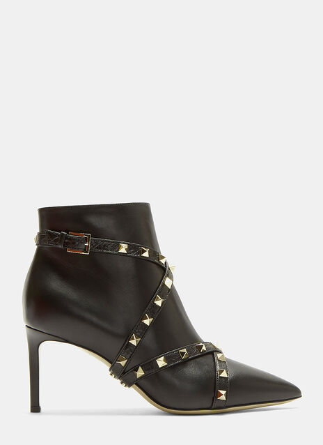 Stud Belted Boots