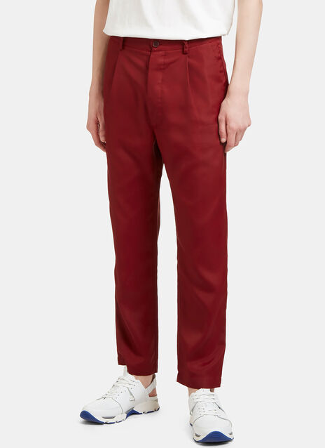 Cropped Technical Pants