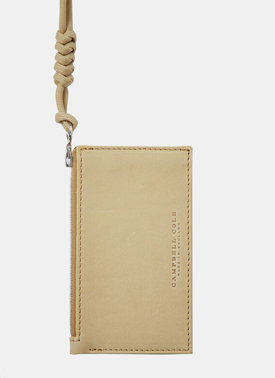 Campbell Cole Simple Coin Pouch With Zip Pull
