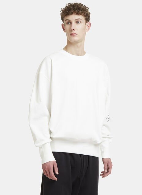 Y-3 Logo Crew Neck Sweater