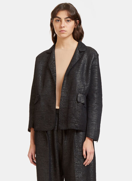 Oversized Tactile Woven Jacket