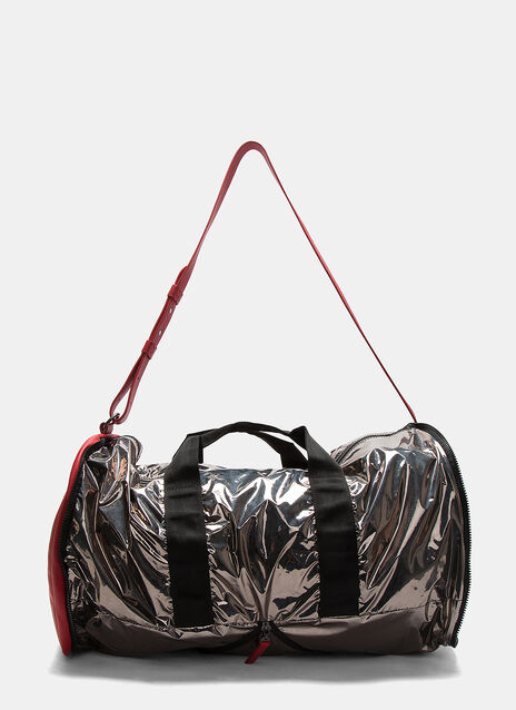 Metallic Foiled Duffle Bag