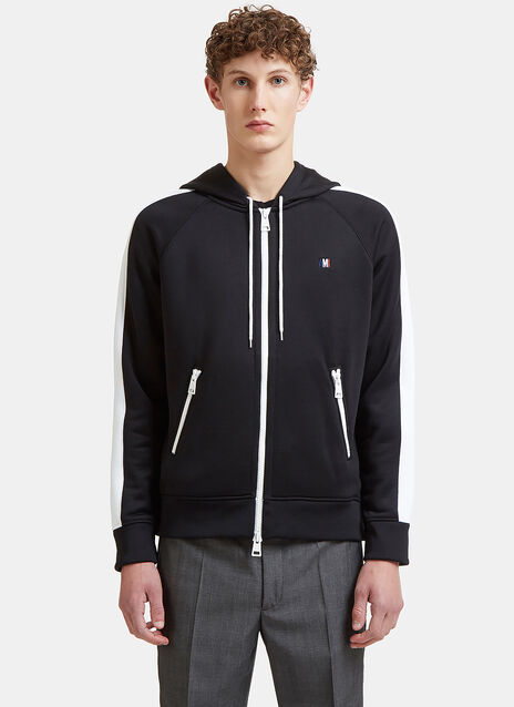 Ami Zip-Up Hooded Sweater
