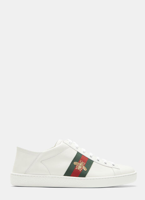 Ace Bee Embroidered Web Sneakers
