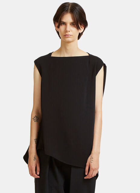 Nouveau Oversized Textured Top