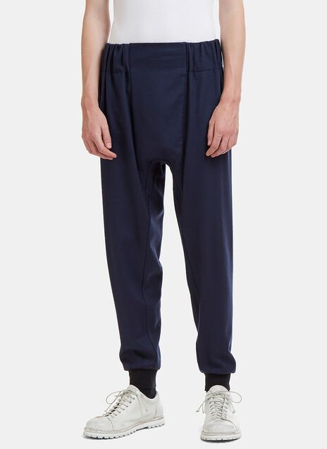Brushed Loopback Jersey Track Pants