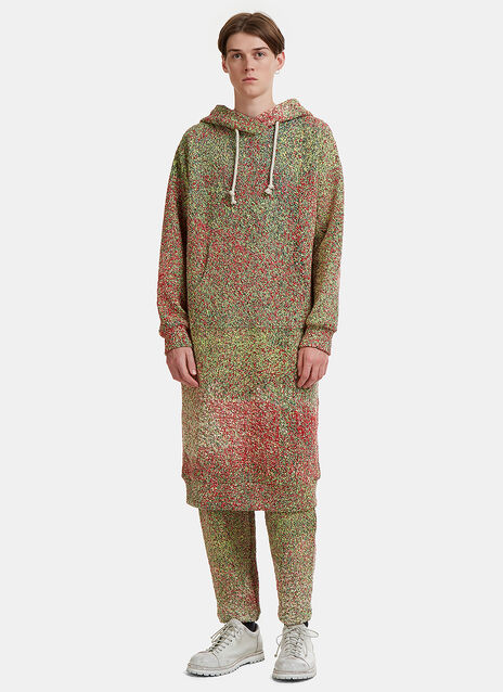 Speckled Schooler Hoodie Dress