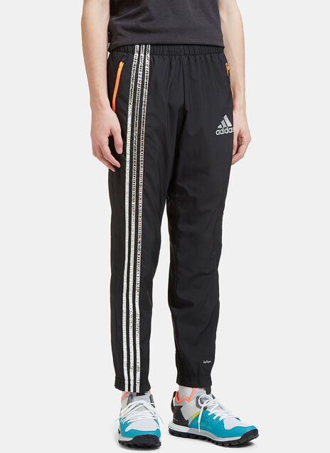 Metallic Three Striped Track Pants