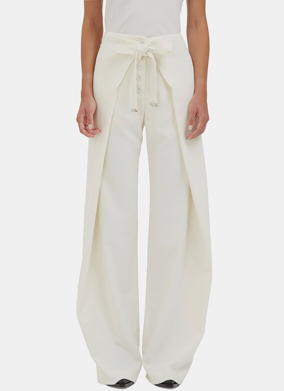 Proenza Schouler High-Waisted Wide Pants