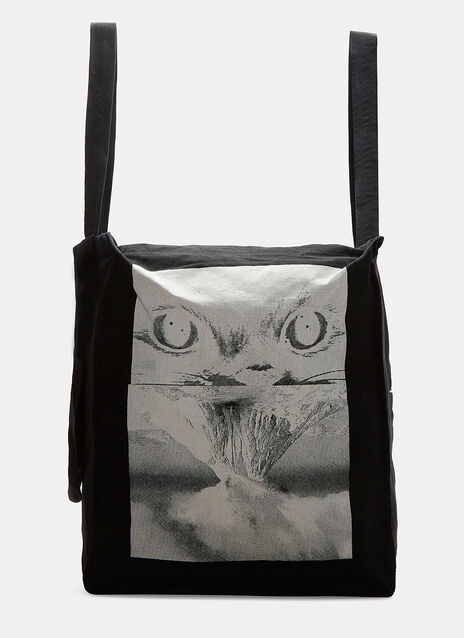 Oversized Magma Tote Bag