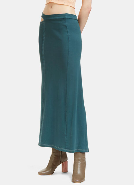 Lapped Jersey Skirt