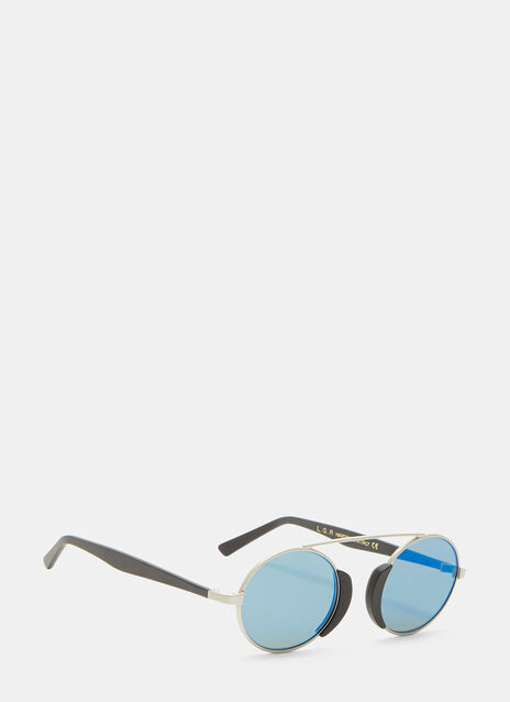 Togo Round Mirrored Sunglasses