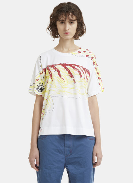 Marni Tiger Printed T-Shirt