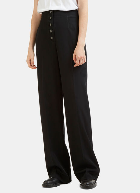 Wide Leg Snap Stud Pants