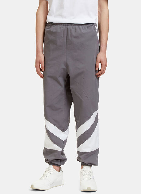 Geometric Panelled Track Pants