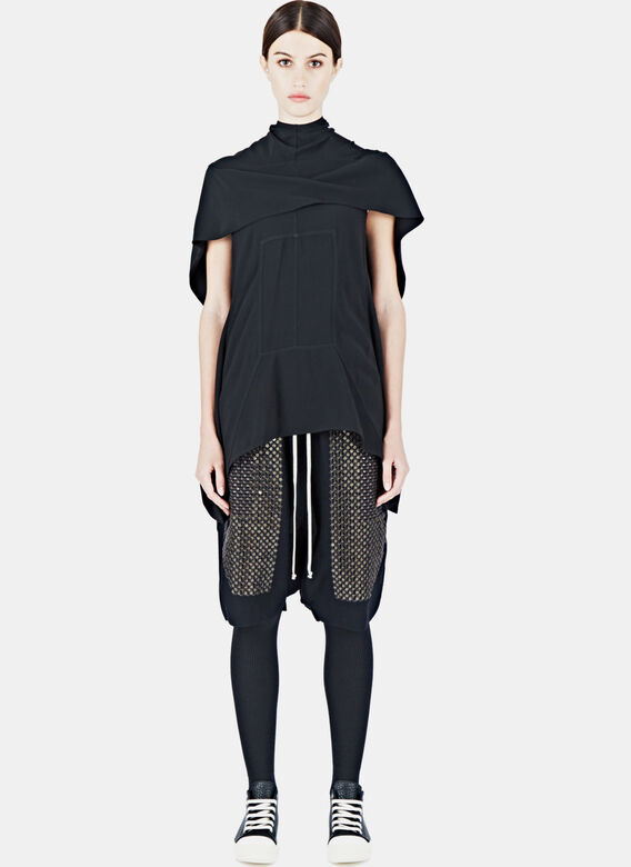 Rick Owens Caped Tunic Top