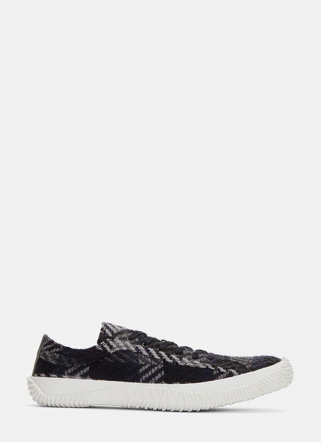 Icon Woven Chevron Low-Top Sneakers