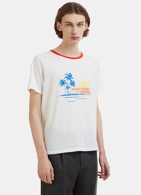 Waiting for the Sunset Crew Neck T-Shirt