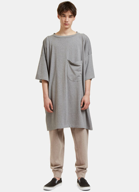 Big Patch Pocket T-Shirt Dress