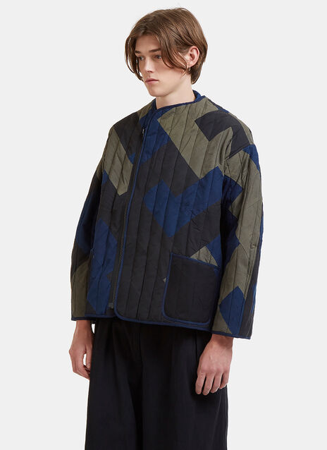 Story Mfg. Tellus Quilted Patchwork Jacket
