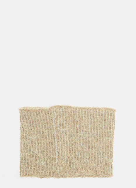 Eckhaus Latta Textured Knit Snood