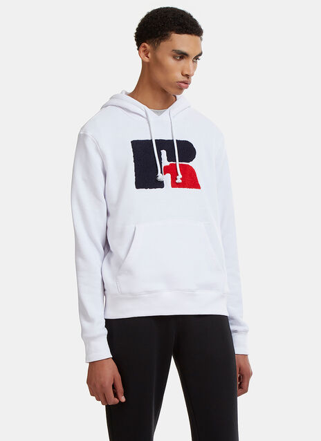 Eagle R Chenille Patch Hooded Sweater