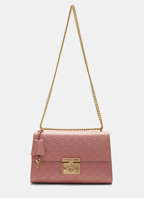 Padlock Gucci Signature Shoulder Bag