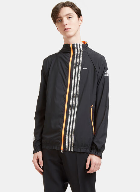 Metallic Three Striped Track Jacket
