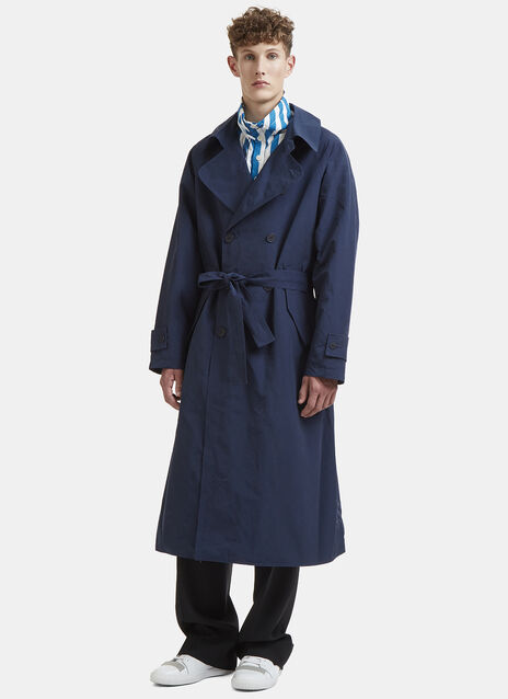 Long-Length Trench Coat