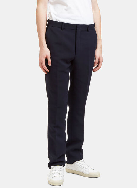 Technical Textured Slim Leg Pants