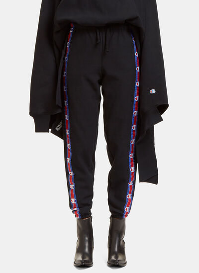 Champion Logo Taped Track Pants